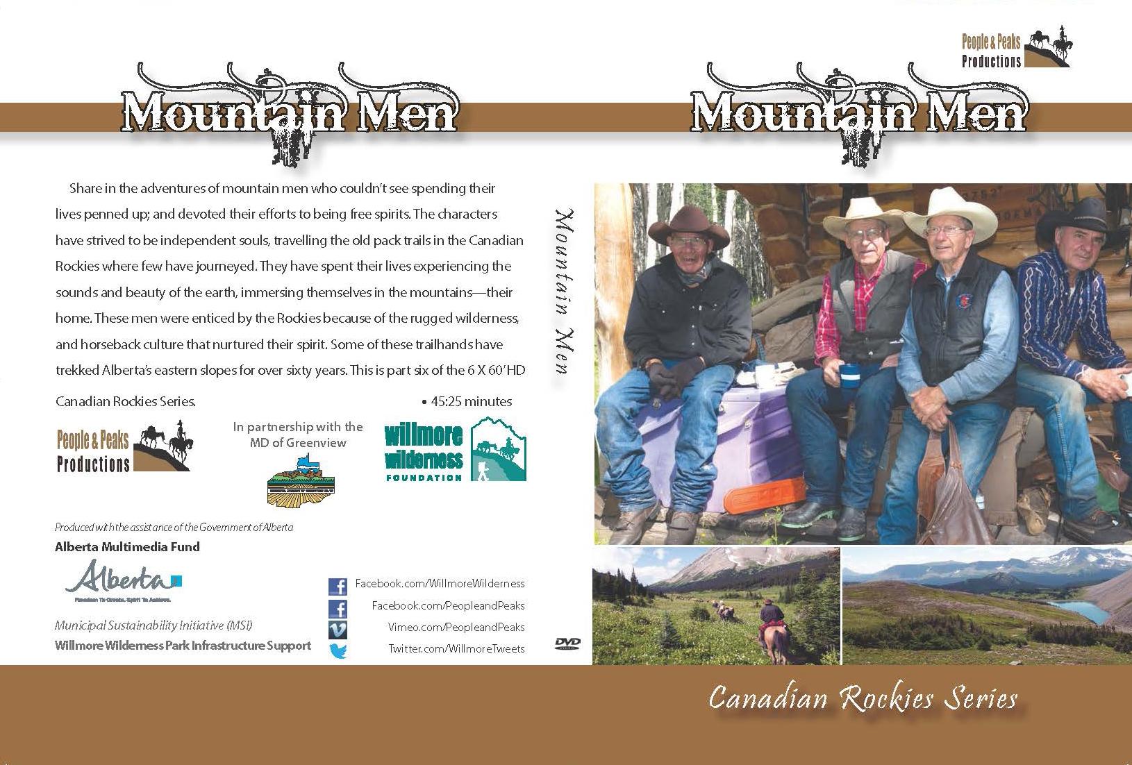 Mountain Men DVD Case Coverr